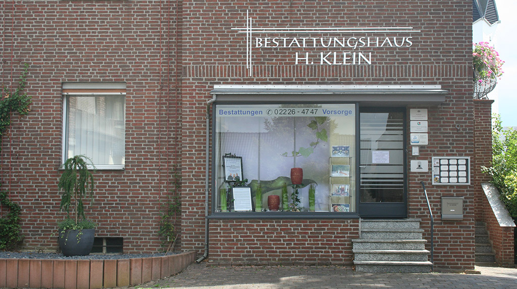 Bestattungshaus Haus von Aussen Zweigniederlassung Rheinbach